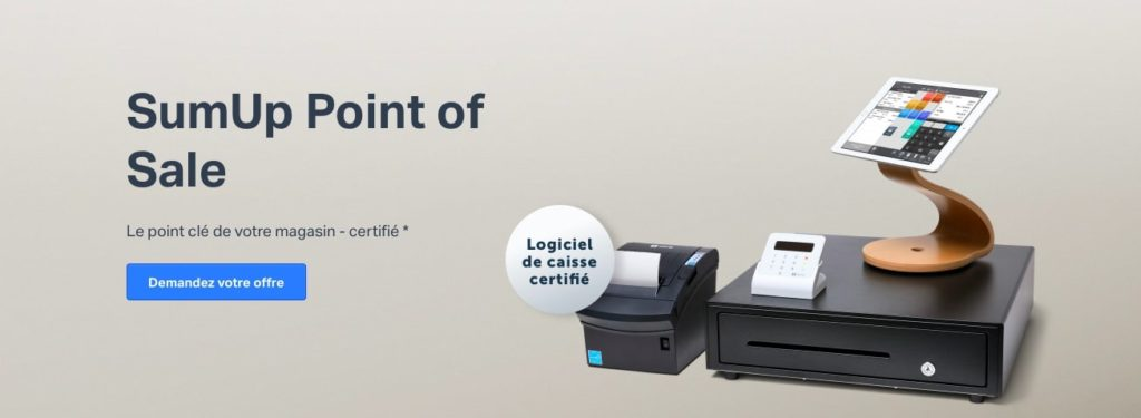 logiciel de caisse SumUp Point of Sale