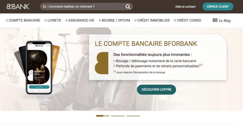 bforbank : banque en ligne